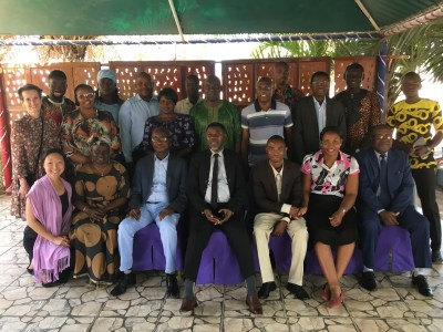 OAA Africa team members from The Gambia, Zambia, DRC, and Kenya