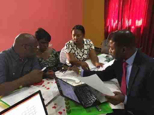 Colleagues across Gambia, Kenya, DRC, and Zambia