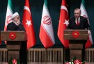 Turkish President Tayyip Erdogan and his Iranian counterpart Hassan Rouhani hold a joint news conference after their meeting in Ankara, Turkey, December 20, 2018. REUTERS/Umit Bektas - RC1D04743FA0