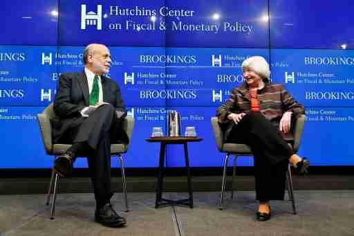 Ben Bernanke & Janet Yellen