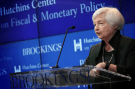 Janet Yellen speaking at Hutchins Center diversity event