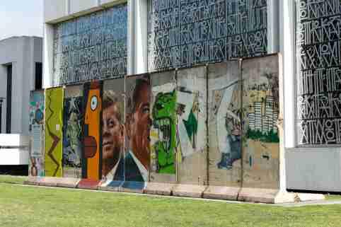 Berlin Wall in Los Angeles, California