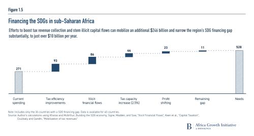 Financing the SDGs in sub-Saharan Africa