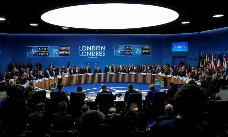 General view during the NATO summit in Watford, Britain December 4, 2019. REUTERS/Peter Nicholls