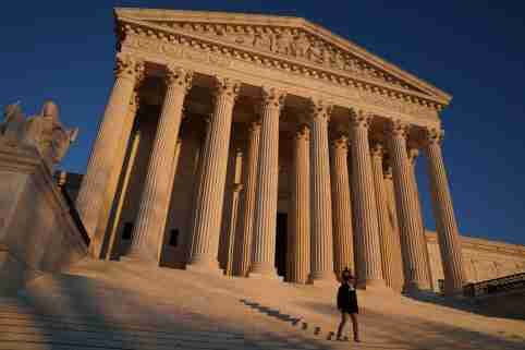 The Supreme Court building exterior seen in Washington, U.S., January 21, 2020.