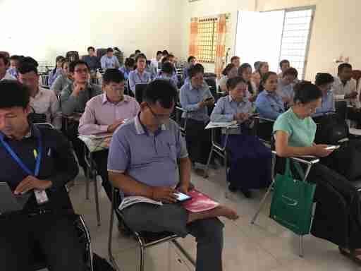 Optimizing Assessment for All workshop in Cambodia