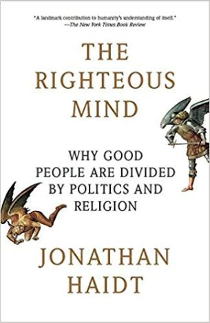 """""""The Righteous Mind"""" cover"""