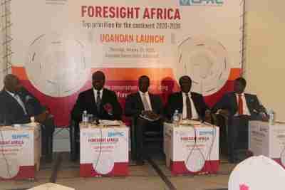 Foresight Africa 2020-2030 launch in Uganda