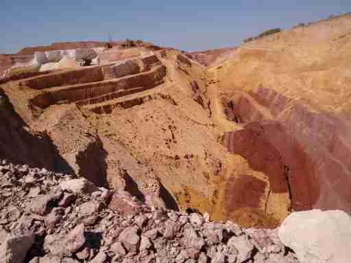 Chittaurgarh open mines