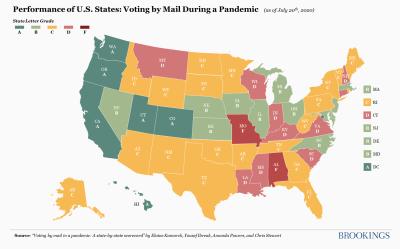 Pandemic Voting Preparedness Map