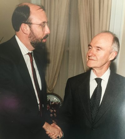 Bruce Riedel and Brent Scowcroft