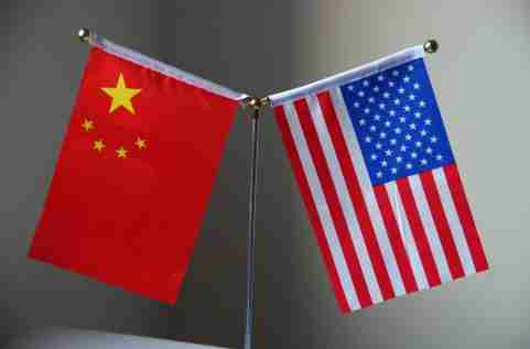 "--FILE--Flags of China and the United States are pictured in Ji'nan city, east China's Shandong province, 4 June 2018.China on Tuesday (19 June 2018) urged the United States to be more rational concerning the ongoing trade issue and to stop undermining the interests of others as well as itself. Foreign Ministry spokesperson Geng Shuang made the remarks at a daily press briefing in response to a question on U.S. Secretary of State Mike Pompeo's recent speech at the Detroit Economic Club. According to reports, Pompeo blamed China's economic and trade policy for the trade issue in his speech Monday and said the United States will respond to ""protect American property."" ""The spokesperson for the Ministry of Commerce has already declared China's solemn position on the economy and trade,"" said Geng, pointing out that the U.S. has confused right and wrong and the purpose of the accusation is to disguise its unilateralism and protectionism policy.No Use China. No Use France."