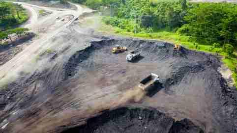 Coal mining in Indonesia