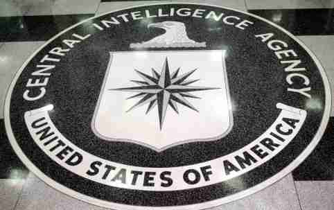 The logo of the U.S. Central Intelligence Agency is shown in the lobby of the CIA headquarters in Langley, Virginia  March 3, 2005. [U.S. President George W. Bush visited the headquarters for briefings Thursday.]