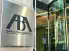 Picture of the American Bar Association sign on a building.