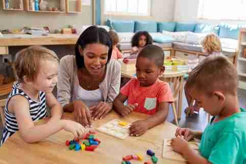 Preschool children learning