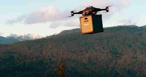 """A robust Covid-19 vaccine drone delivery payload system for use in critical regions is being developed. The payload to be developed by U.S. company Draganfly, and is a sustainable thermal management system with capability to carry a minimum of 300 multi-doses or 100 single doses. It is being designed as part of a comprehensive delivery and logistics platform of which Draganfly will operate. """"It is very exciting that COVID-19 vaccinations are starting to be distributed. Draganfly will help us solve the problem which is the timely and precise distribution of the vaccine in hard-to-reach areas."""" said Wayne Williams, Founder and Executive Director of Coldchain Technology. Draganfly Inc., has been selected by Coldchain Technology Services, LLC to immediately develop and provide flight services. Coldchain Technology provides comprehensive solutions for healthcare supply chain management for multiple government and commercial clients, including the US Army, the Centers for Disease Control and Prevention, Reserve Component forces, Johnson & Johnson brands, Chicago Department of Public Health, and others and has been leading the deployment of COVID-19 vaccines throughout the United States. """"Since the beginning of the COVID-19 pandemic, Draganfly has been committed to providing solutions to help prevent the spread of the virus, including our Vital Intelligence systems that can measure vital signs from a camera including your smartphone."""" said Cameron Chell, CEO of Draganfly. """"We are eager to develop this payload and service as we can leverage our extensive patent portfolio as well as secure auto-pilot and flight management system to help with the distribution of the vaccine for Covid-19 and beyond.""""When: 04 Feb 2021Credit: Draganfly/Cover-Images.com**Editorial Use Only**"""