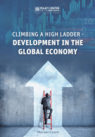 """Cover of """"Climbing a High Ladder - Development in the Global Economy"""" (Source: Policy Center for the New South)"""
