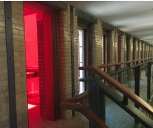 ruby carrel art installation