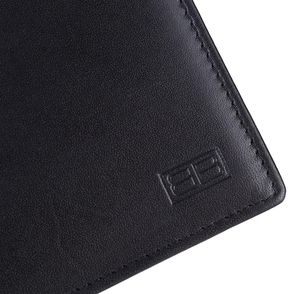 3300faea00bc RFID Blocking Bi-fold Genuine Leather Wallet For Men With Removable ID  Windows | Black