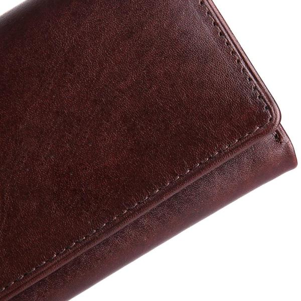 Trifold Genuine Leather Wallet For Men | Brown