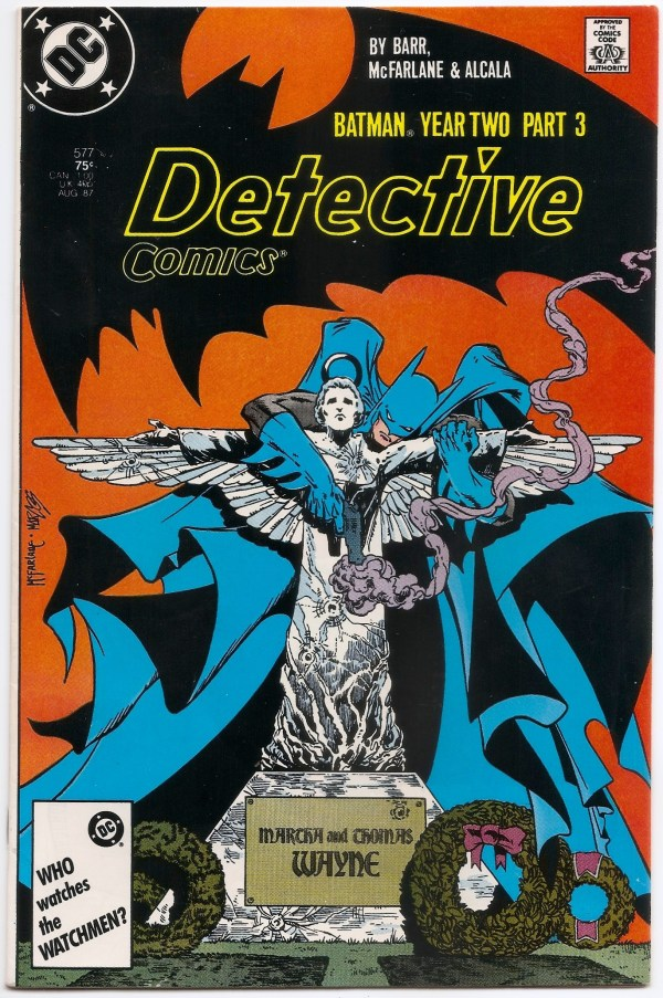 Detective Comics # 577 Batman Year Two Todd Mcfarlane Art - Brooklyn Comic