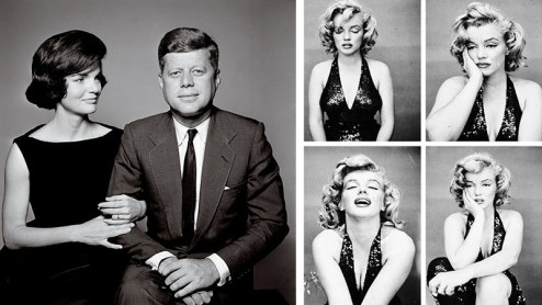 richard-avedon-jacqueline-and-john-f-kennedy-1961-and-m-monroe-1957