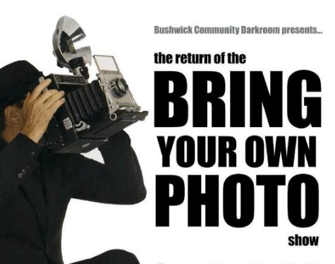 bring your own photo show bushwick community darkroom
