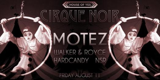 house of yes cirque noir