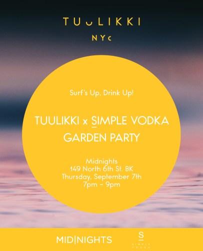 TUULIKKI Garden Party