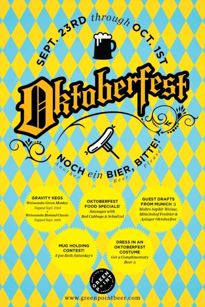 greenpoint beer and ale oktoberfest