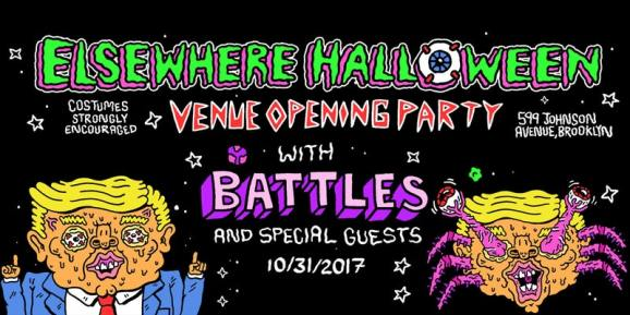elsewhere grand opening halloween party