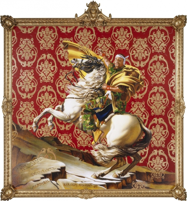 Kehinde Wiley Napoleon Leading The Army
