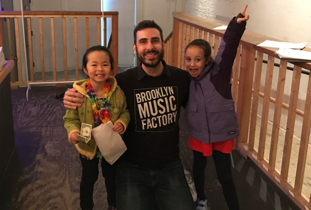 Music teacher at Brooklyn Music Factory music lessons