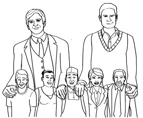 'Hipster Olympics' video creators author new coloring book