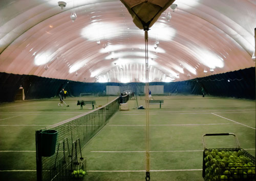 Love it Allweather sports bubble will cover McCarren Park tennis courts this fall  Brooklyn Paper