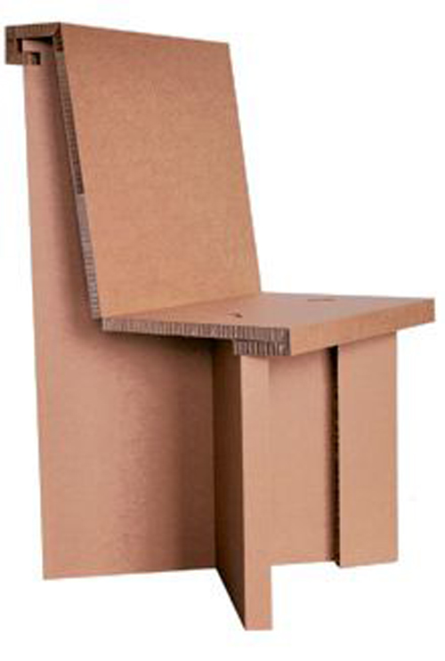 Kevin Marcato CAD Cardboard Chair Design