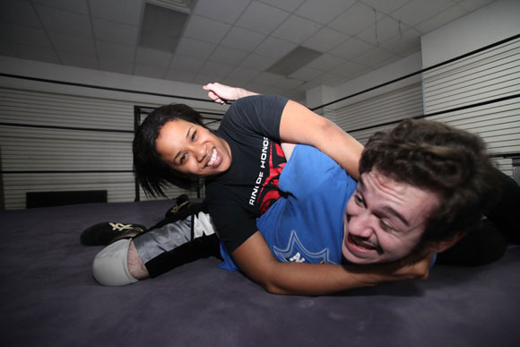 Bonesaw Jessie Brooks Baddest Woman on the Planet aspires to wrestle in Japan  Brooklyn Paper