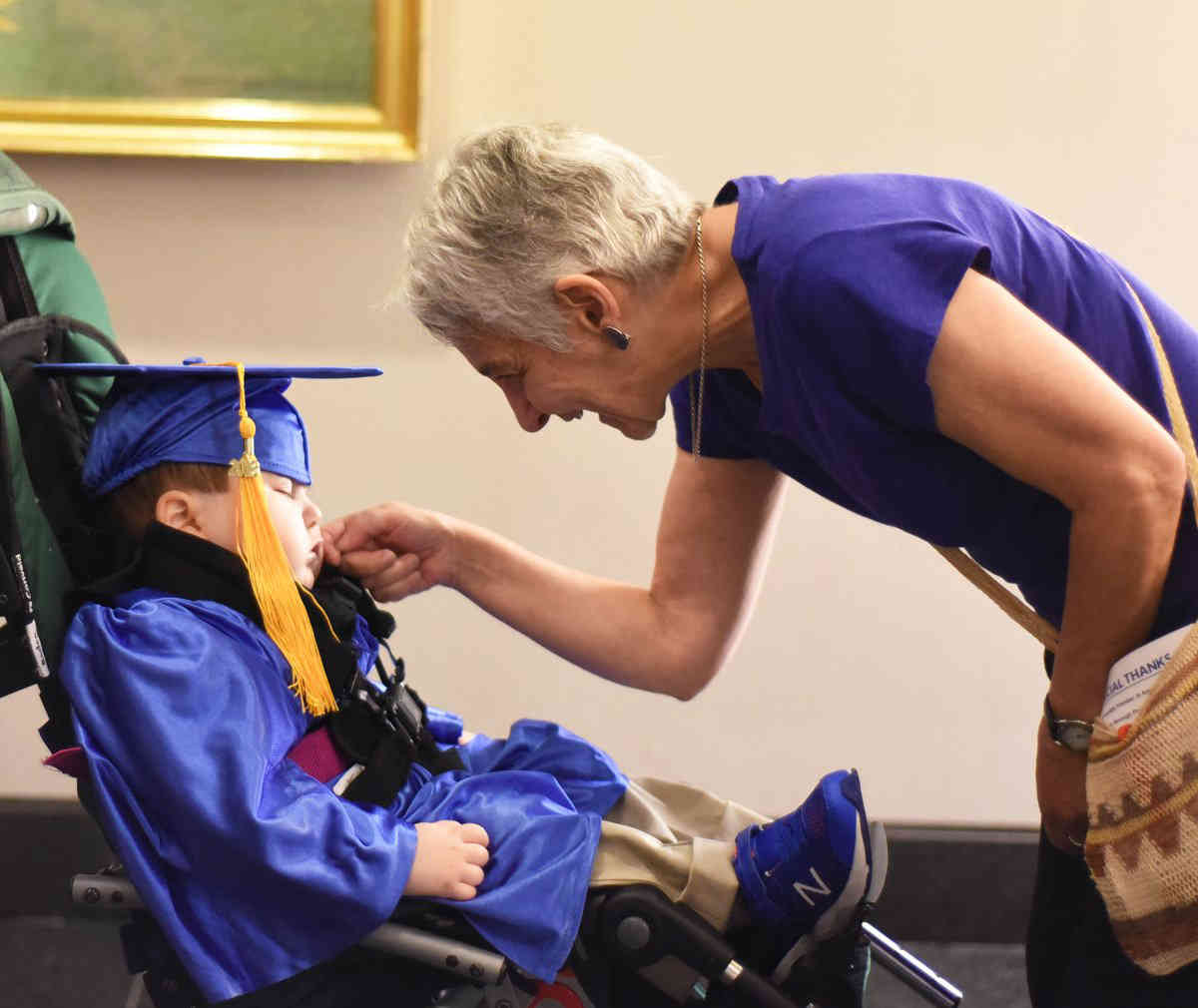 Onward And Upward Young Disabled Scholars Claim Diplomas