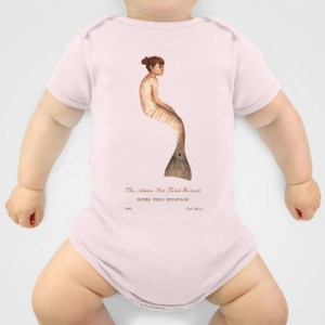 Atlantic Red Tailed Mermaid onesie