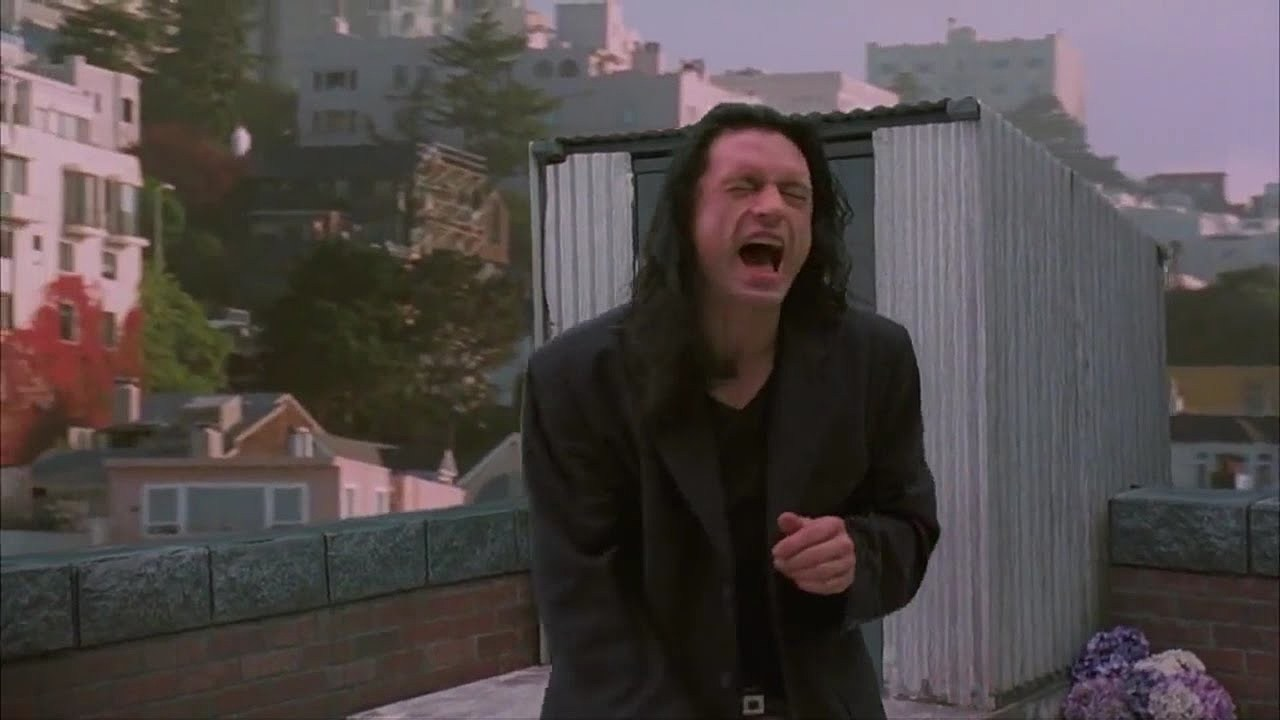 cult film The Room which inspired The Disaster Artist