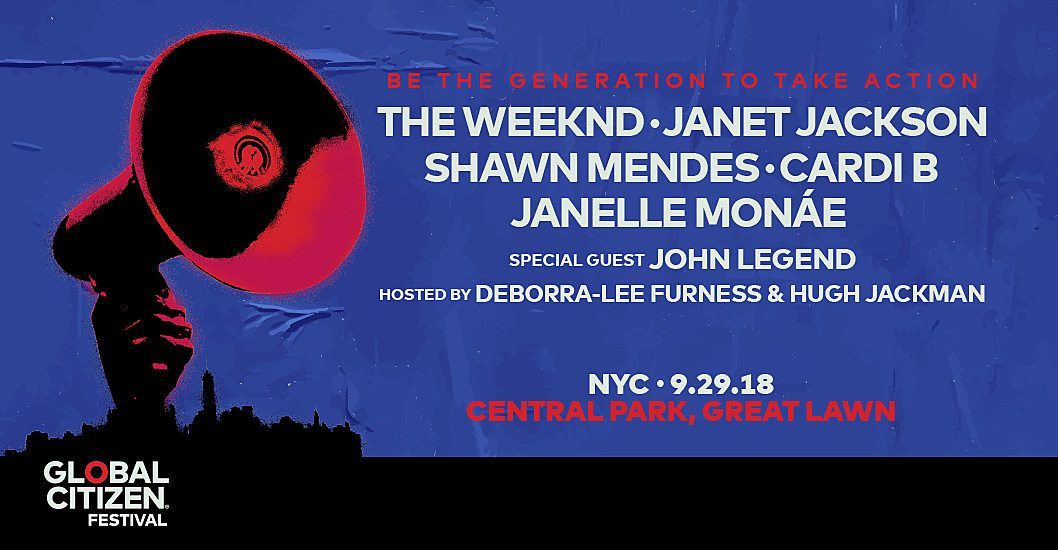 Image result for global citizen 2018