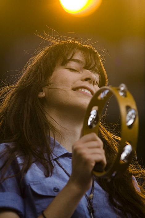 Jenny Lewis  Conor Oberst  the Mystic Valley Band  Battery Park in NYC July 4th  pics