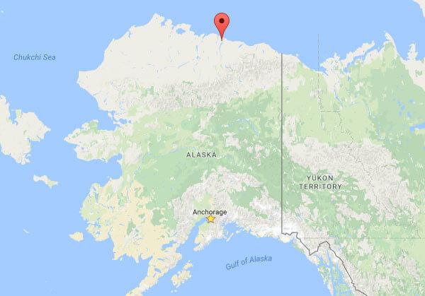 Brooks Camp on the North Slope in Prudhoe Bay Alaska