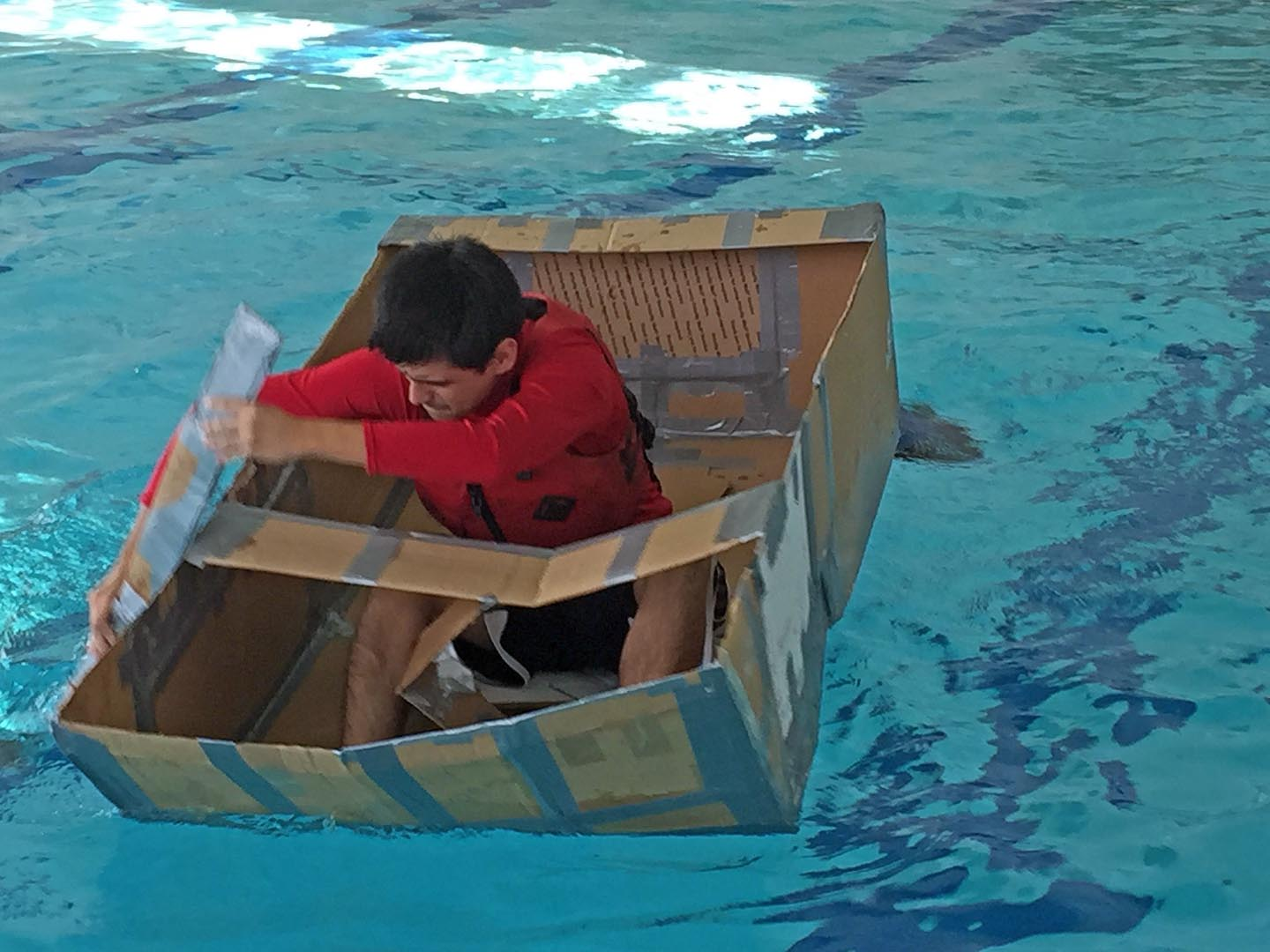 Cardboard Boat Competition  Gwendolyn Brooks College