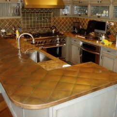 Copper Kitchen Countertops Table Decorations Hoods Sinks Ranges Panels By Brooks