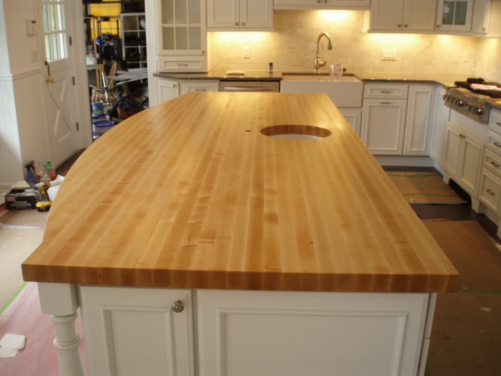 maple countertops kitchen how much does it cost to do a remodel wood gallery brooks custom