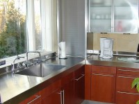 Stainless Steel Countertop - Brooks Custom