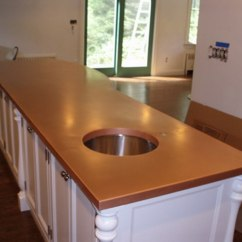 Kitchen Island Rustic Banquettes Copper Countertops, Hoods, Sinks, Ranges, Panels By Brooks ...