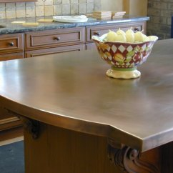 Copper Kitchen Countertops Cabinets Greenville Sc Hoods Sinks Ranges Panels By Brooks